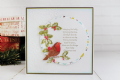 Tattered Lace Melded Christmas Robin - Seasonal Symbol - D1301